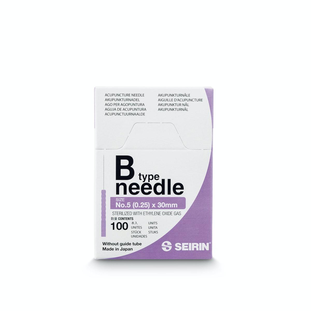 Seirin akupunkturnåler B type 3000 stk