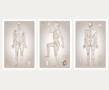 Klinikkutgaven - Sett med 3 plakater på hver 61x91 cm