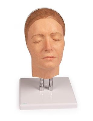 Model af hoved til ansigts injektioner