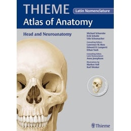 10 STK. THIEME head and neuro anatomy ren latin atlas