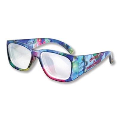 Pædagogisk brille der simulerer synsforandringerne ved alkoholberuselse