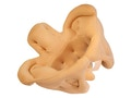 Bækkenmodel i stof og skumgummi der viser kvindens bækken. Målrettet demonstration af fødsler