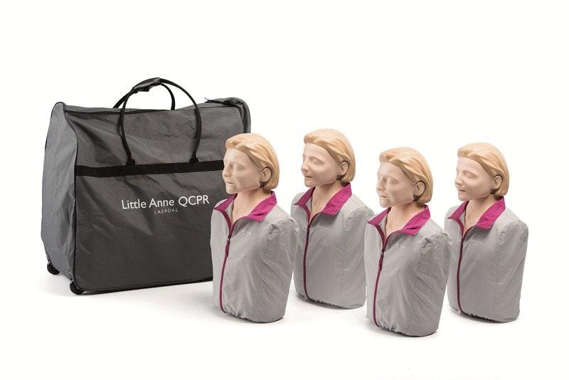 4 pak Little Anne QCPR