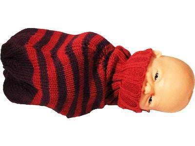 Livmoder i strikket uld