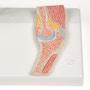 Fleksibel og formindsket albuemodel plus et tværsnit af albueleddet